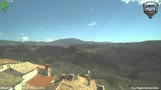 Hum, Pogled prema istoku 03-04-2015 Day HD TimeLapse