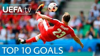 Video Top ten UEFA EURO 2016 goals MP3, 3GP, MP4, WEBM, AVI, FLV Juni 2017
