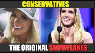 Ann Coulter's melt down reminds us once again, conservatives are THE O.G SNOWFLAKES. Hosted by Francis Maxwell. See more TYT Facebook Originals at http://fb.com/theyoungturks/videosFollow Francis Maxwell on Twitter: http://twitter.com/francismmaxwell/Follow Francis Maxwell on Instagram: https://instagram.com/francismmaxwell/