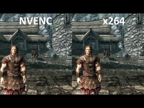 NVENC Vs X264 Quality Comparison