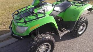2. 2005 Arctic Cat ATV 500 Manual Review