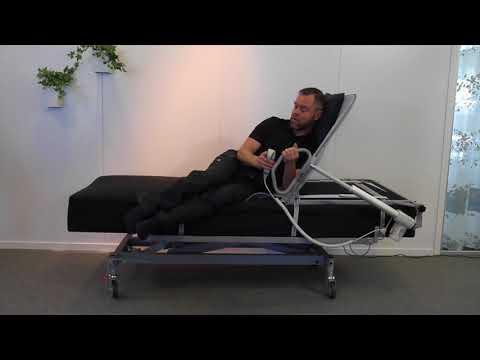 Comfortabel sängryggstöd - användning