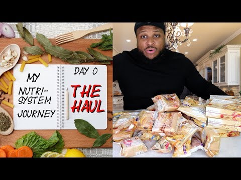 Peso ideal - Nutrisystem Haul - Day 0 of my weight loss journey