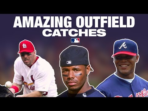 Video: ICONIC Outfield Catches. How did they do this??