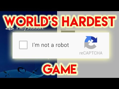 World s Hardest Game CAPTCHA