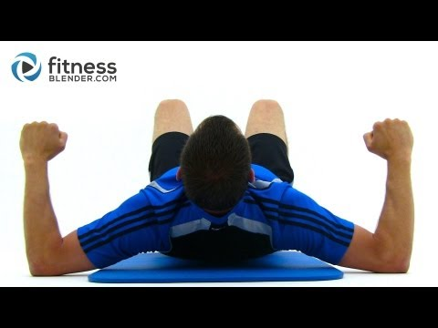 Brutal 35 Minute Bodyweight Workout – Fitness Blender Functional Strength Training