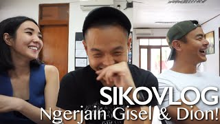 Video SIKOVLOG #29 - Ngerjain Gisel & Dion Di #CTSmovie! (Ft. Gisella Anastasia & Dion Wiyoko) MP3, 3GP, MP4, WEBM, AVI, FLV Januari 2018