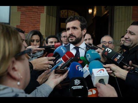 Casado recuerda a Gregorio Ordóñez en el 25 aniver...