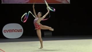 Mimi-Isabella Cesar - Silver - Senior Ribbon - Rhythmic Gymnastics 2017