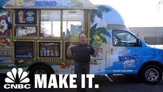 How Kona Ice Cracked The 'Creepy Ice Cream Truck' Problem | CNBC Make It.