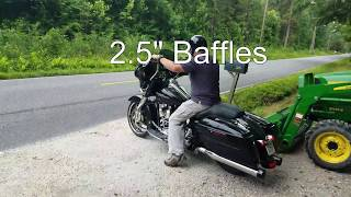 10. Rinehart Baffle Comparison, 2015 Harley Davidson Street Glide