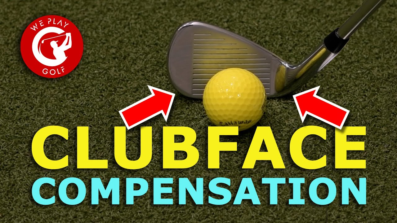 This is why you have to compensate your clubface in your golf swing!