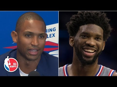 Video: Al Horford can't wait to play alongside Joel Embiid on the 76ers | 2019 NBA Free Agency