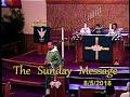 Sunday Sermon 8/5/2018