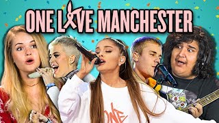 Video ADULTS REACT TO ONE LOVE MANCHESTER CONCERT MP3, 3GP, MP4, WEBM, AVI, FLV September 2018
