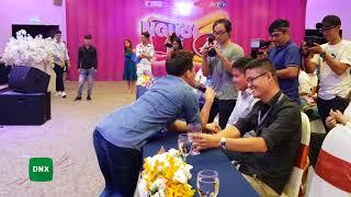 Video Trấn Thành đơ mặt khi bị Lê Giang chặt chém tại họp báo Người Bí Ẩn mùa 5 | Dailysao MP3, 3GP, MP4, WEBM, AVI, FLV Mei 2018