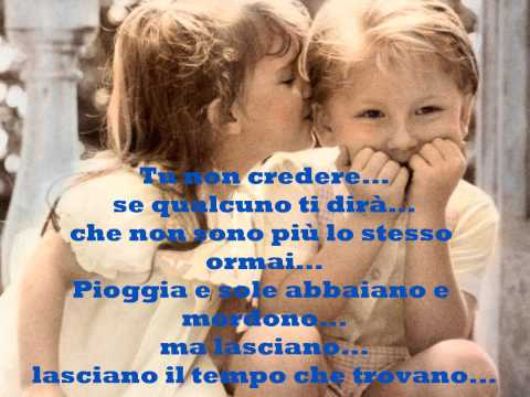 """, title : '""""Sempre e per sempre"""", con testo (F. De Gregori)'"""