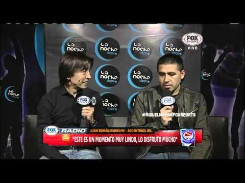 Vide Juan Roman Riquelme entrevista en FOX Sports Radio - Parte 1