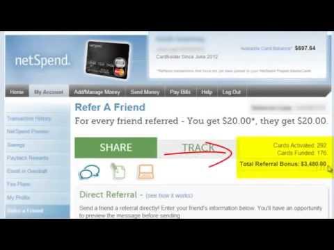 Make Money Online with a  Prepaid Debit Card Affiliate Program