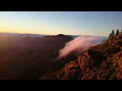 Time Lapse Cascada de nubes en la Caldera de Tejeda Gran Canaria