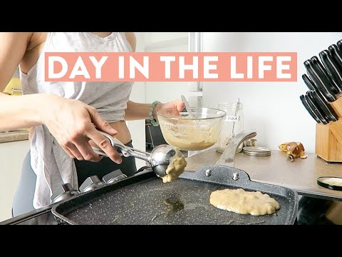 Nutrition - DAY IN THE LIFE + WHAT I EAT IN A DAY