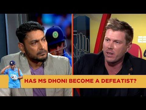 Gloves Off: Has Dhoni become a defeatist?