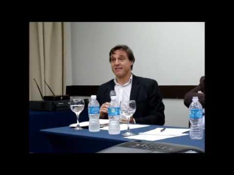 Sócio Fernando Hirsch fala em reunião da CNTSS/CUT - maio 2017