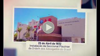 OAB Piauí: Aniversário de 88 anos