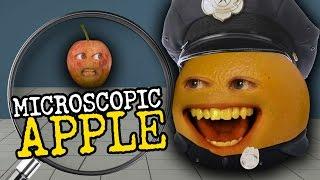 Annoying Orange - Microscopic Apple (feat. Greg Benson, Joe Nation&Jess Lizama)