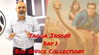 #TutejaTalks | Jagga Jasoos | Day 1 Box Office Collections | Ranbir Kapoor | Katrina Kaif