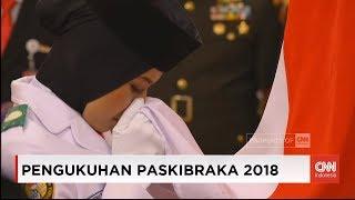 Video Presiden Jokowi Kukuhkan Anggota Paskibraka Nasional 2018 MP3, 3GP, MP4, WEBM, AVI, FLV Agustus 2018