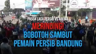 Video Merinding! Bobotoh Sambut Para Pemain Persib Bandung Seperti Ini MP3, 3GP, MP4, WEBM, AVI, FLV Juli 2018