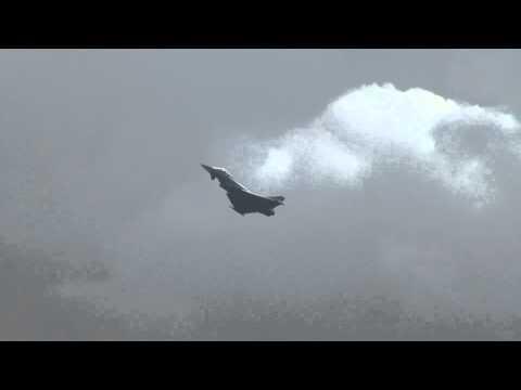 Eurofighter Typhoon Vorführung...