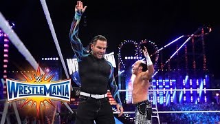 Matt & Jeff Hardy make a shocking return to WWE: WrestleMania 33 (WWE Network Exclusive)