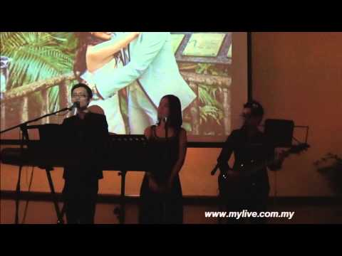 KL Wedding Live Band [Mylive Entertainment] For The First Time covered by Nick Shze