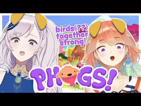 【REINE x KIARA】PHOGS! (Birds? Dogs? ...Together Strong!) #ホロ鳥 #holobirds 【hololiveID 2nd generation】