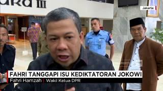 Video Fahri Hamzah Tanggapi Isu Jokowi Diktator MP3, 3GP, MP4, WEBM, AVI, FLV Desember 2017