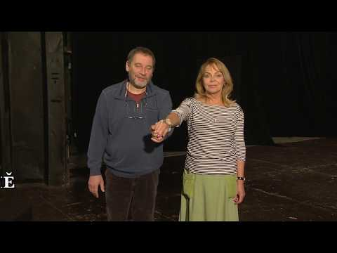Režisér Jan Burian připravuje se souborem vinohradského divadla komedii Jamese Goldmana LEV V ZIMĚ. Podívejte se na zkoušku.