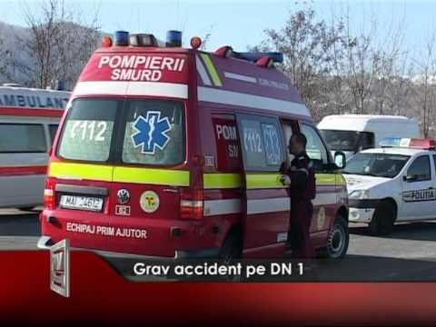 Grav accident pe DN 1