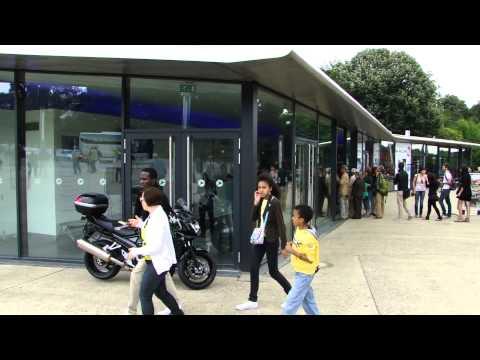 Visita ao Atomium, em Bruxelas