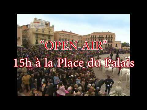 À 14:30 : Grande Parade et Open Air Circus Show - La grande fête du cirque à Monaco