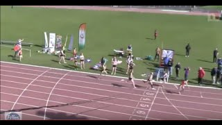 Incredible Finish to  4 x 400m Relay  Race