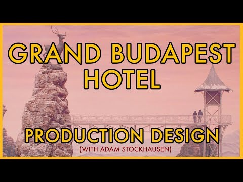 Wes Anderson's Production Design || Grand Budapest Hotel