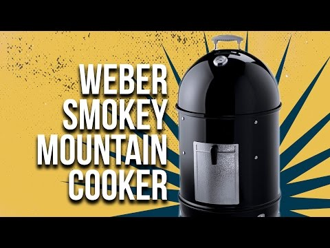 An Overlook and Description of Weber Smokey Mountain Cooker - BBQ Guru Preferred Cookers