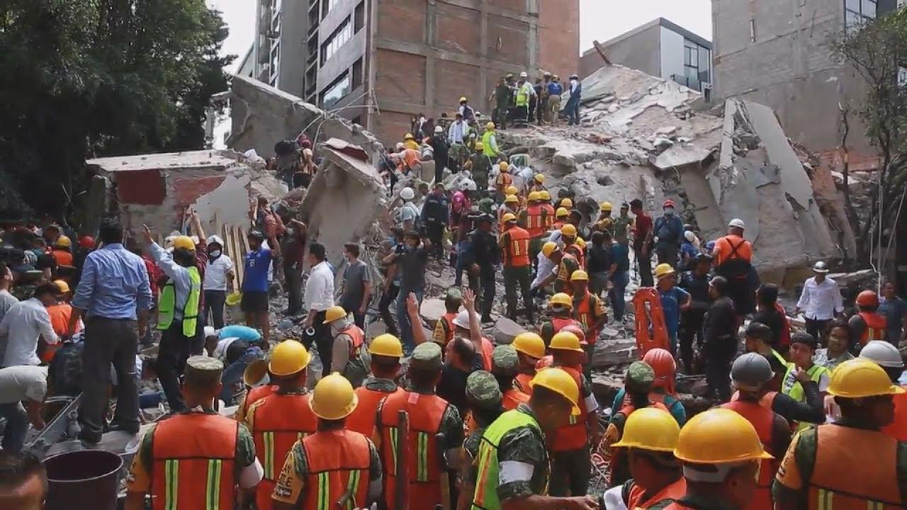 Τουλάχιστον 224 οι νεκροί από τον σεισμό των 7,1 βαθμών στο Μεξικό