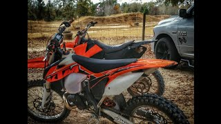 3. 2014 KTM 300 XC   First Ride ,Motocross & Trails