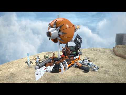 Конструктор Дирижабль-штурмовик - LEGO NINJAGO - фото № 8