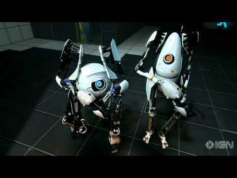 Portal 2 E3 et un mode co-op !!!