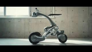 乗り物⇔運搬変形ロボ、自律移動可能 千葉工大が開発