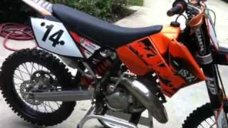 6. 2007 KTM 125 sx for sale